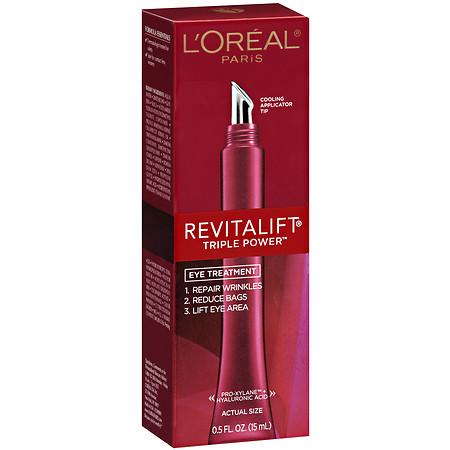 L'Oreal Paris Revitalift Triple Power Eye Treatment - 0.5 oz.