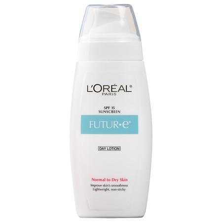 L'Oreal Paris Skin Expertise Futur*e Moisturizer + a Daily Dose of Pure Vitamin E, SPF 15, Normal to Dry Skin - 4 fl oz