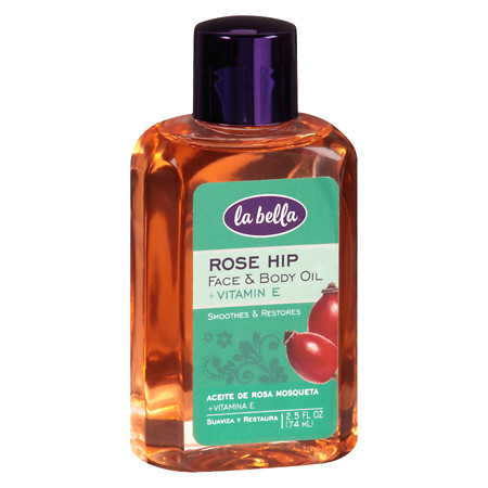 La Bella Rose Hip Oil with Vitamin E - 3 fl oz