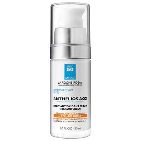 La Roche-Posay Anthelios Antioxidant Face Serum with Sunscreen SPF 50 Cell Ox Shield - 1 oz.