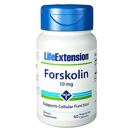 Life Extension Forskolin 10mg, Vegetarian Capsules - 60 ea