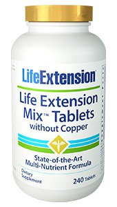 Life Extension Mix™ Tablets without Copper, 240 tablets