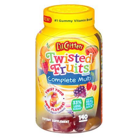 L'il Critters Complete Multi Gummies Assorted - 140 ea