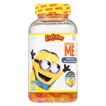 L'il Critters Despicable Me Complete Multivitamins Gummies Strawberry-Banana - 190 ea