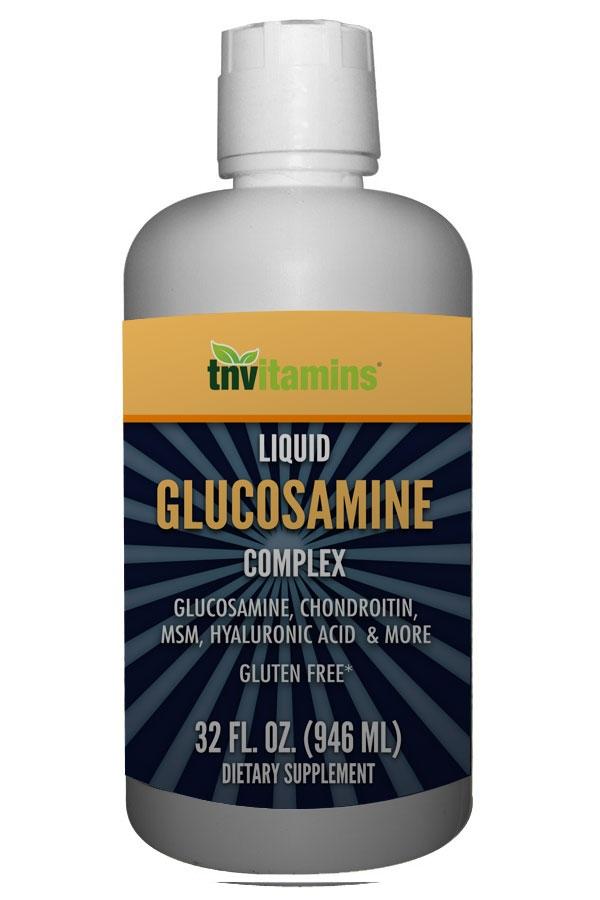 Liquid Glucosamine Complex With Hyaluronic Acid