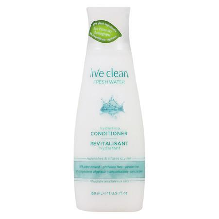 Live Clean Hydrating Conditioner Fresh Water - 12 oz.