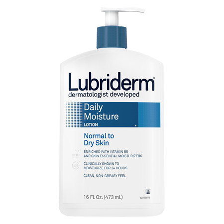 Lubriderm Daily Moisture Lotion for Normal to Dry Skin - 16 fl oz