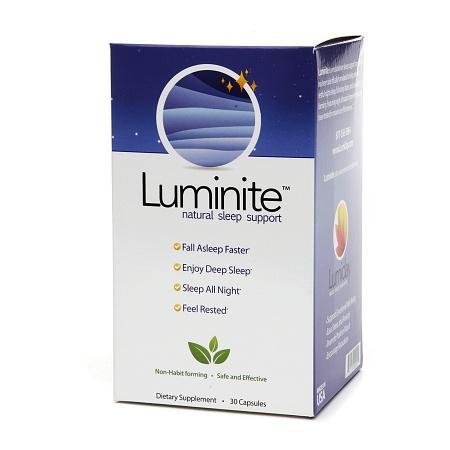Luminite Natural Sleep Support, Capsules - 30 ea