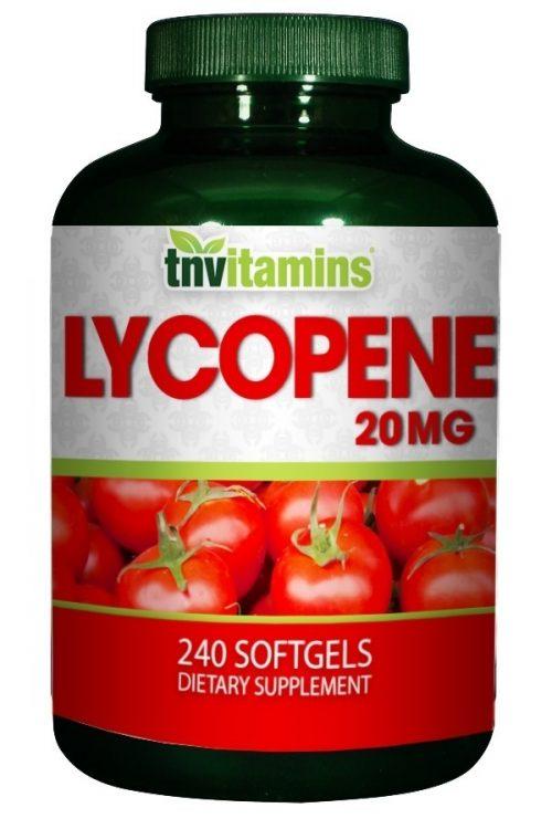 Lycopene 20 Mg Softgels