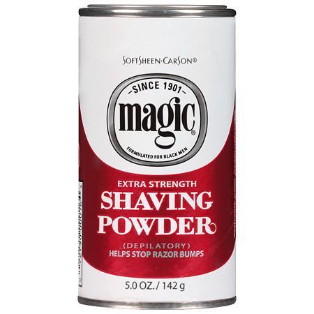 Magic Shave Shaving Powder Depilatory Extra Strength - 5 oz.