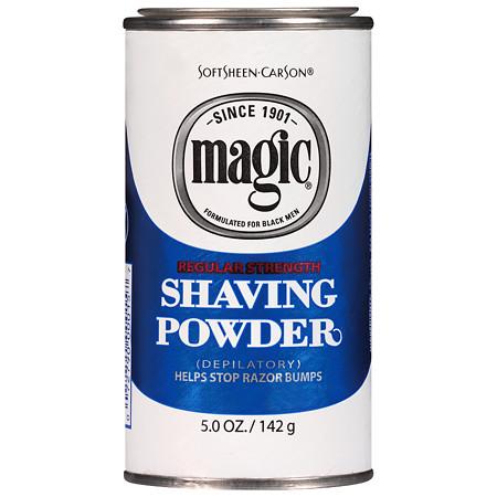 Magic Shave Shaving Powder Depilatory Regular Strength - 5 oz.