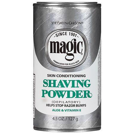 Magic Shave Shaving Powder Depilatory Skin Conditioning - 4.5 oz.