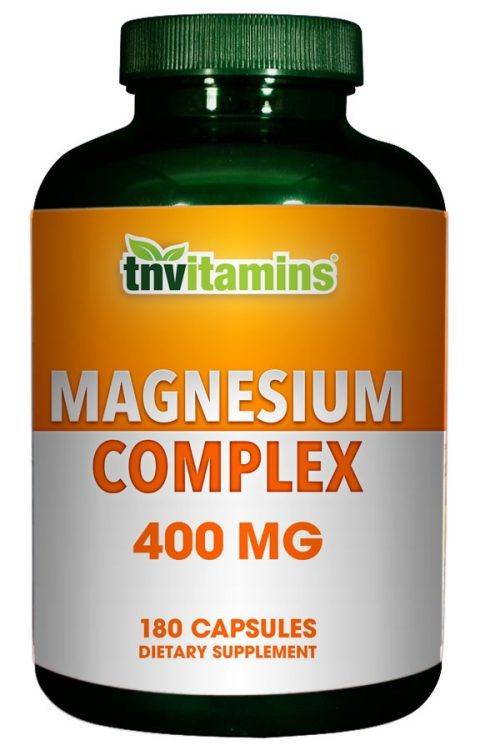 Magnesium Complex From Oxide, Aspartate and Citrate 400 Mg.