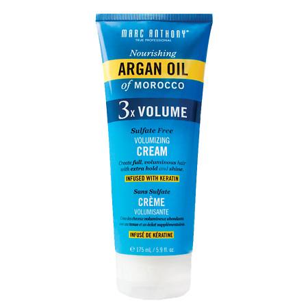 Marc Anthony True Professional Nourishing Argan Oil of Morocco 3X Volume Cream - 5.9 fl oz