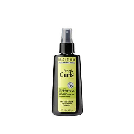 Marc Anthony True Professional Strictly Curls Curl Envy Dry Styling Oil - 4 fl oz