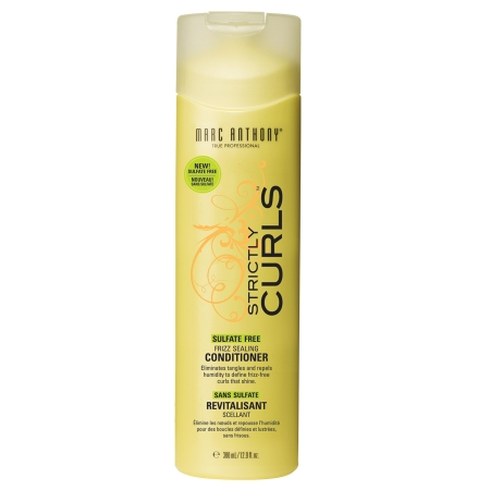 Marc Anthony True Professional Strictly Curls Sulfate Free Frizz Sealing Conditioner - 12.9 fl oz