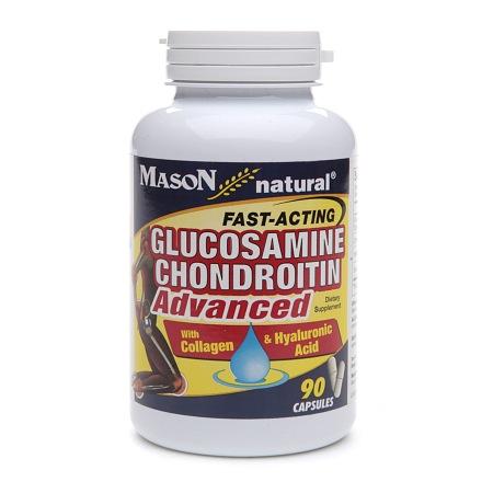 Mason Natural Glucosamine Chondroitin Advanced, Capsules - 90 ea