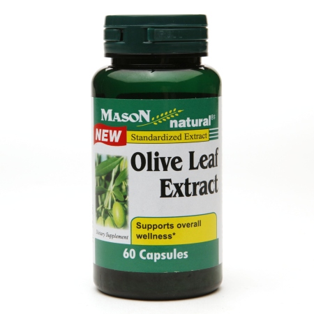 Mason Natural Olive Leaf Extract, Capsules - 60 ea