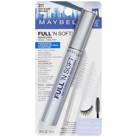 Maybelline Full 'N Soft Waterproof Mascara - 1 ea