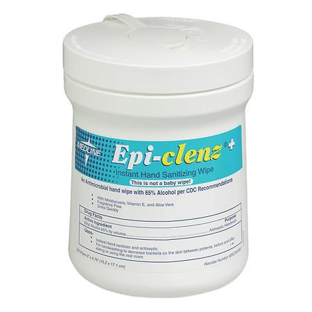 Medline Epi-Clenz Instant Hand Sanitizing Wipes - 1920 ea