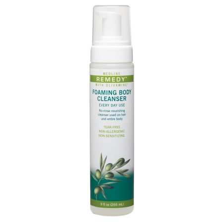 Medline Remedy Foaming Body Cleanser - 1 ea
