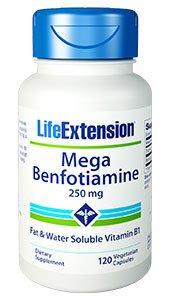 Mega Benfotiamine, 250 mg, 120 vegetarian capsules