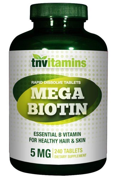 Mega Biotin 5 Mg (5000 mcg)