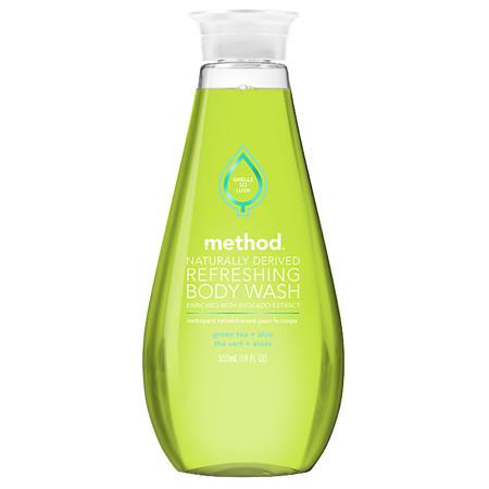Method Refreshing Gel Body Wash Green Tea & Aloe - 18 oz.