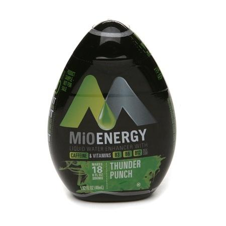 MiO Energy Liquid Water Enhancer Thunder Punch - 1.62 oz.