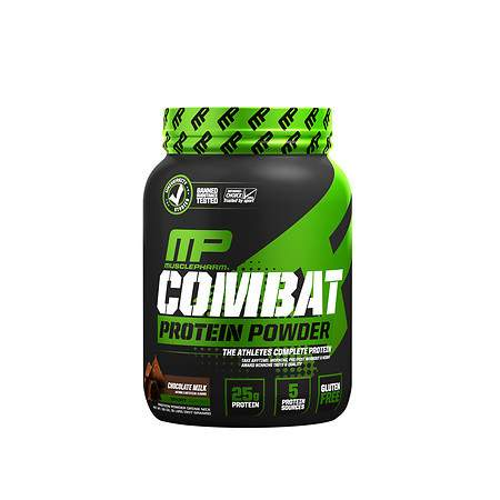 MusclePharm Combat Advanced Time Released Protein Chocolate Milk - 32 oz.