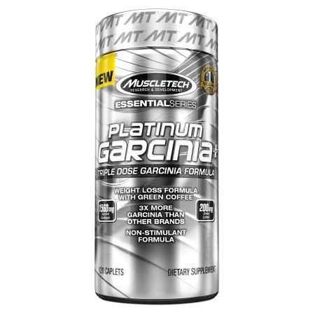 Muscletech Platinum Garcinia Plus, Caplets - 120 ea