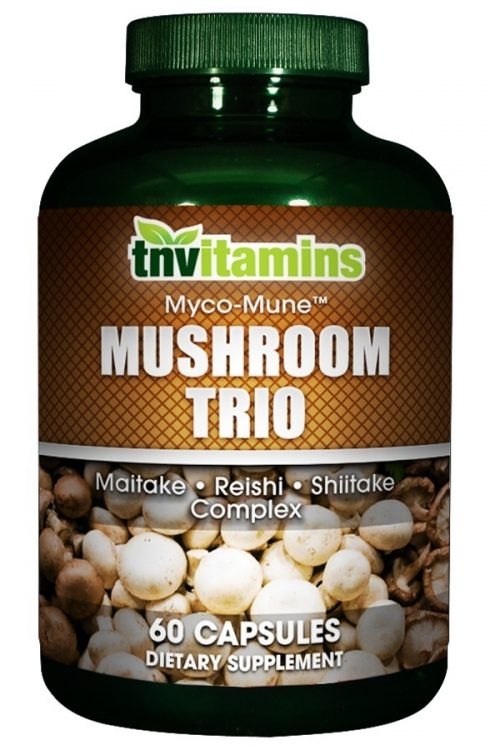 Mushroom Trio - Maitake, Reishi and Shiitake