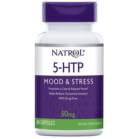 Natrol 5-HTP 50 mg - 45 ea