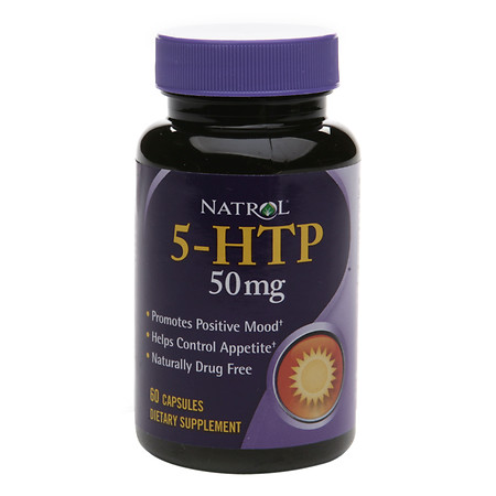 Natrol 5-HTP 50 mg Dietary Supplement Capsules - 60 ea