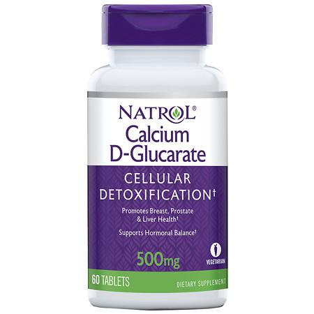 Natrol Calcium D-Glucarate, Tablets - 60 ea