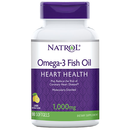 Natrol Flax Seed Oil, 1000mg, Softgels - 90 ea
