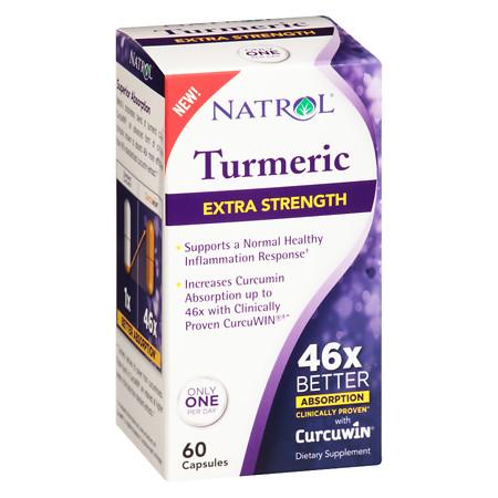 Natrol High Absorption Turmeric - 60 ea