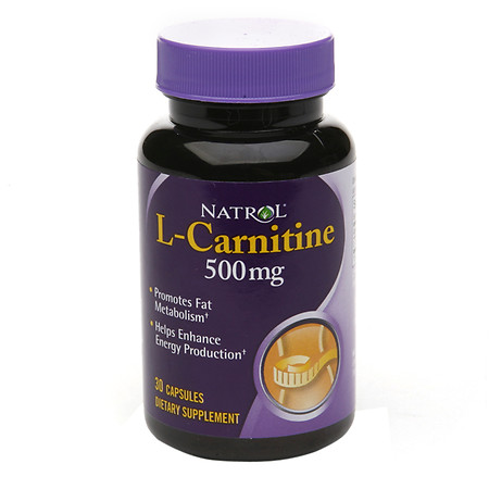 Natrol L-Carnitine 500 mg - 30 ea