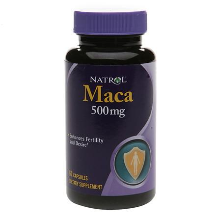 Natrol Maca 500 mg Dietary Supplement Capsules - 60 ea