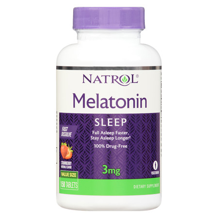 Natrol Melatonin 3 mg - 150 ea