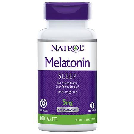 Natrol Melatonin TR 5 mg - 100 ea