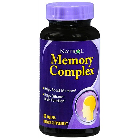 Natrol Memory Complex Dietary Supplement Tablets - 60 ea
