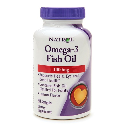 Natrol Omega-3 Fish Oil 1000 mg - 90 ea