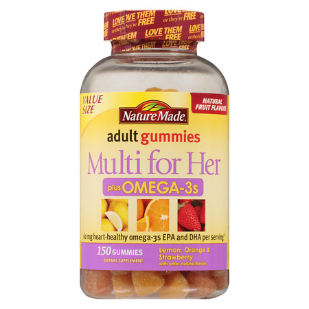 Nature Made Adult Gummies For Her Omegas - 150 ea