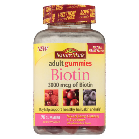 Nature Made Biotin Gummies 3000 mcg - 90 ea