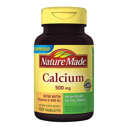 Nature Made Calcium 500 mg With Vitamin D - 130 ea