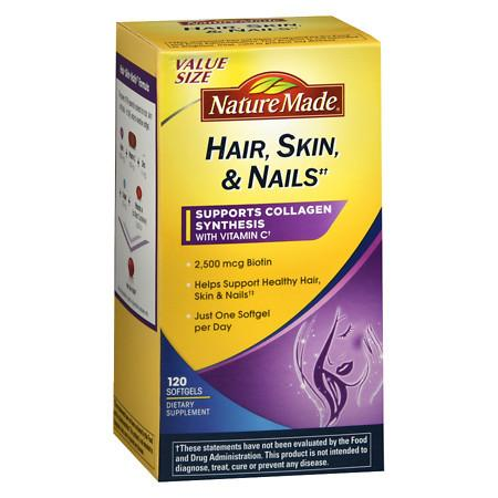 Nature Made HairSkinNails Softgels - 120 ea