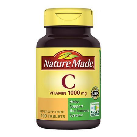 Nature Made Vitamin C 1000 mg - 100 ea