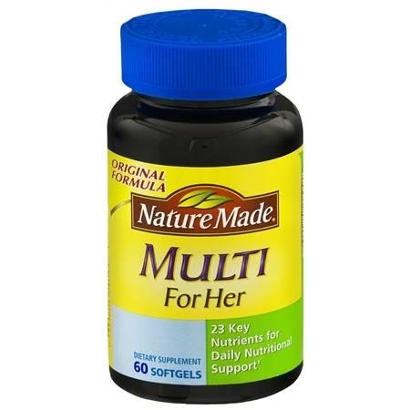 Nature Made Women's Multi-Vitamin - 60 ea