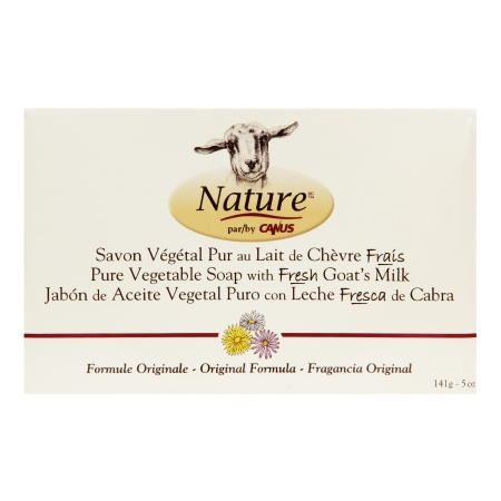 Nature by Canus Pure Vegetable Soap with Fresh Goat's Milk Original - 5 oz.